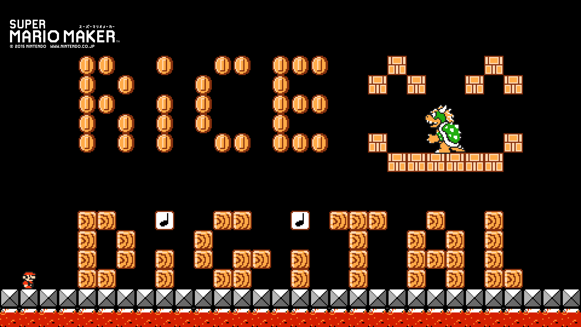 Super Mario Maker: Design Your Own Desktop Wallpaper - Rice