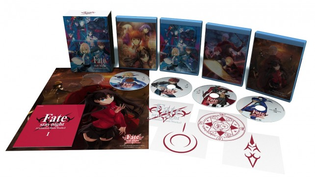 Fate Stay Night: Unlimited Blade Works - Part 1 Collector's Edition
