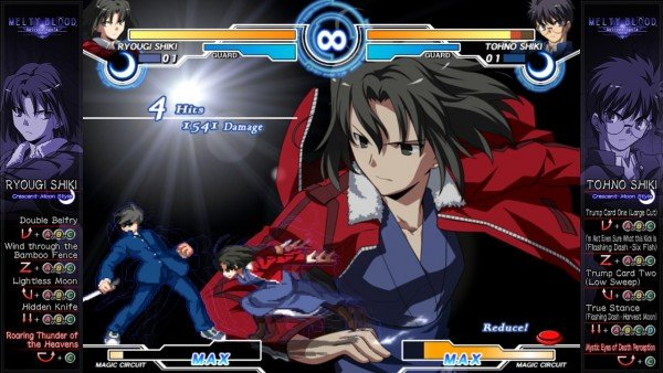Melty Blood Actress Again Current Code on Steam This Month - Gameplay
