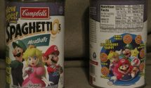 Mario Party Star Rush Box Reuses Spaghetti-O's Assets, Most Delicious Game in Series
