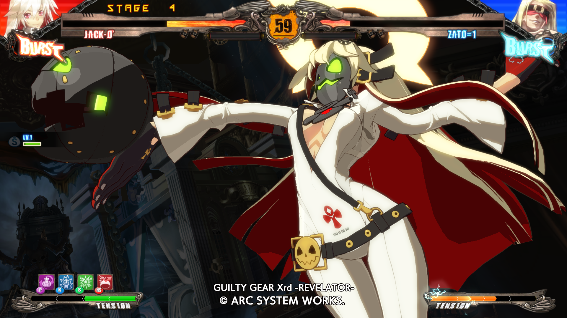 Guilty Gear Xrd: Rev 2 - Character Color: Answer 2017 pc game Img-1