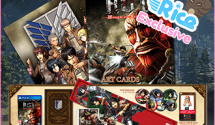 AOT: Wings of Freedom RICE EXCLUSIVE Treasure Box Edition + Art Cards + Pre-Order DLC
