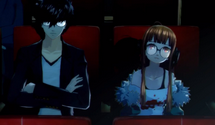 Persona 5 – Watching a Movie with Futaba, Maid Cafe and Falling in Bath