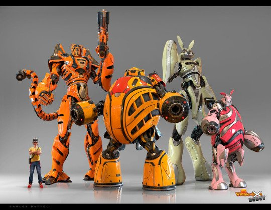 winnie the pooh robots assemble