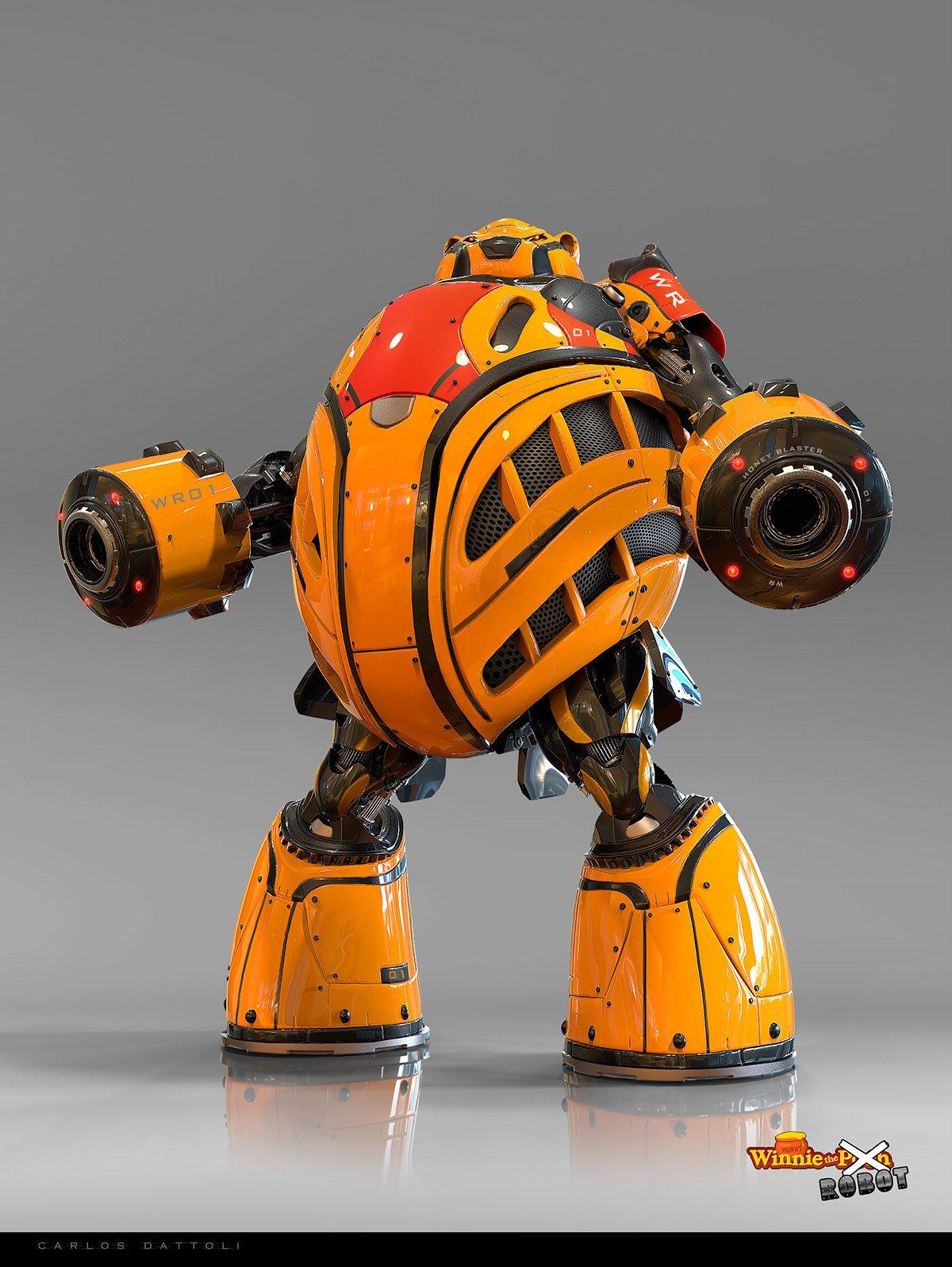 winnie the pooh robots
