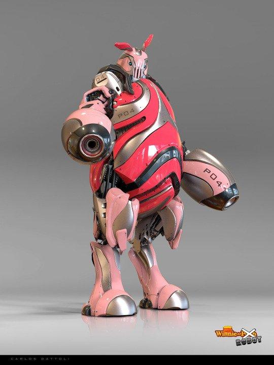 winnie the pooh robots piglett