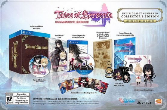 berseria collector's edition