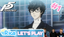 Let's Play Persona 5 #1 (First 30 Mins) – The U2 App