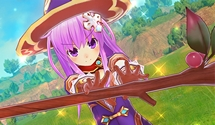Four Goddesses Online Has Nepgear Playing a Mage and Uni a Thief