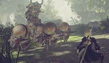NieR Automata New Forest Zone Screenshots