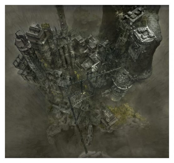 The Last Guardian Map Created By Fans 2