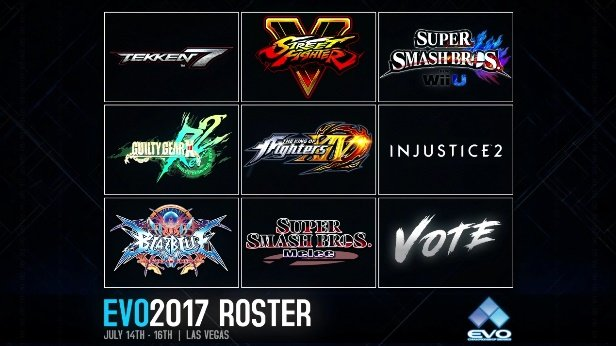 Evo 2017 Logo >> Evo 2017 Line Up Announced Arms Could Be At Evo Rice Digital