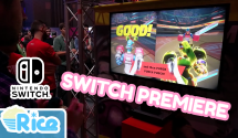 Nintendo Switch UK Premiere: Hands-On Gameplay & Chat