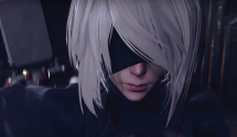 NieR Automata's 2B Fight Enemies with Grace in Weapons Trailer