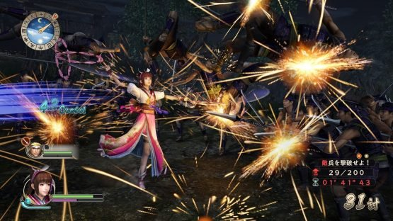 Samurai Warriors: Spirit of Sanada Preview - Warriors Has Always Been About the Story Battle_Oichi
