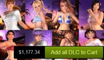 Dead or Alive 5 Last Round Costs Over $1,000 Now