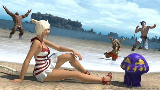The 5 Most Exciting Things to Look Forward to in Final Fantasy XIV Stormblood Swimming Beach