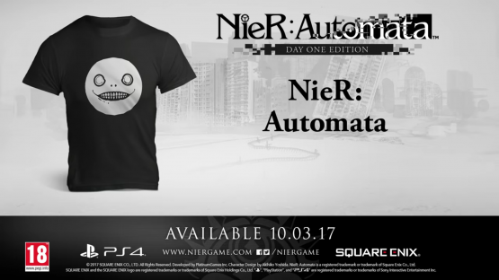NieR: Automata Pre-Order Video Includes T-Shirt and...Floor Rolling