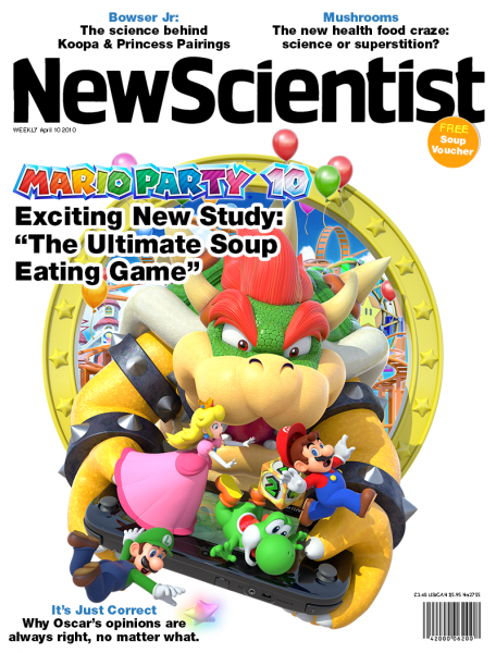Top 5 Games to Play While Eating Soup Alone on Valentine's Day Mario Party 10 New Scientist