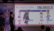 Blue Reflection Final Fantasy XV Costume Collaboration Announced