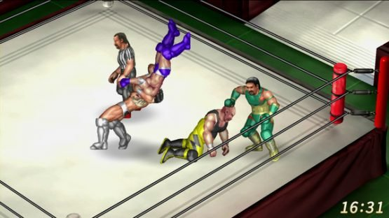 Fire Pro Wrestling World Coming to PS4 and Steam