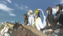 The Heroic Legend of Arslan Part Two Review (Anime)