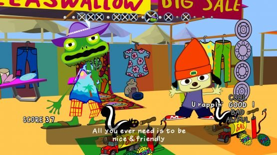 PaRappa the Rapper Remastered Review 3