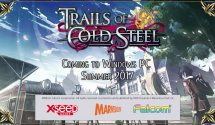 The Legend of Heroes: Trails of Cold Steel Steam Coming Summer 2017, Sequel to Follow