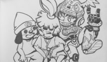 Project Rap Rabbit Fan Art Friday Launched
