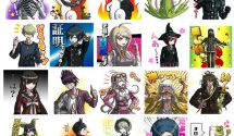Set of 40 Danganronpa V3 LINE Stickers Released