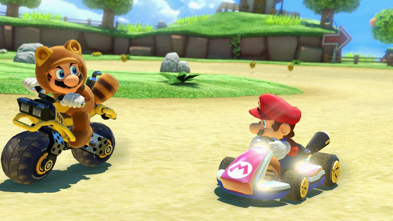 mario kart 8 deluxe review switch rice digital rice digital. Black Bedroom Furniture Sets. Home Design Ideas