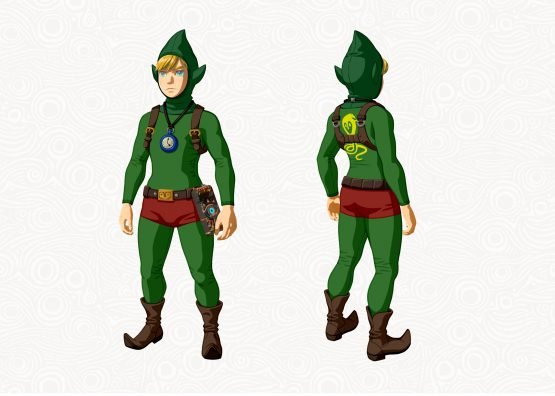 It's Tingle But Not As You Were Expecting, Breath of the Wild DLC Pack 1 Detailed ZBotW_DLC_Tingle_outfit