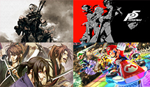 Nier Automata, Hakuoki: Kyoto Winds, Persona 5, Mario Kart 8 Deluxe – Just Played