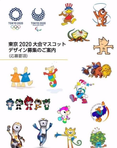 Olympia Maskottchen 2020