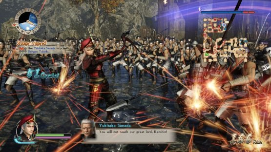 Samurai Warriors Spirit of Sanada Interview: Osamu Mieda on Making History Battle_Stratagems_2