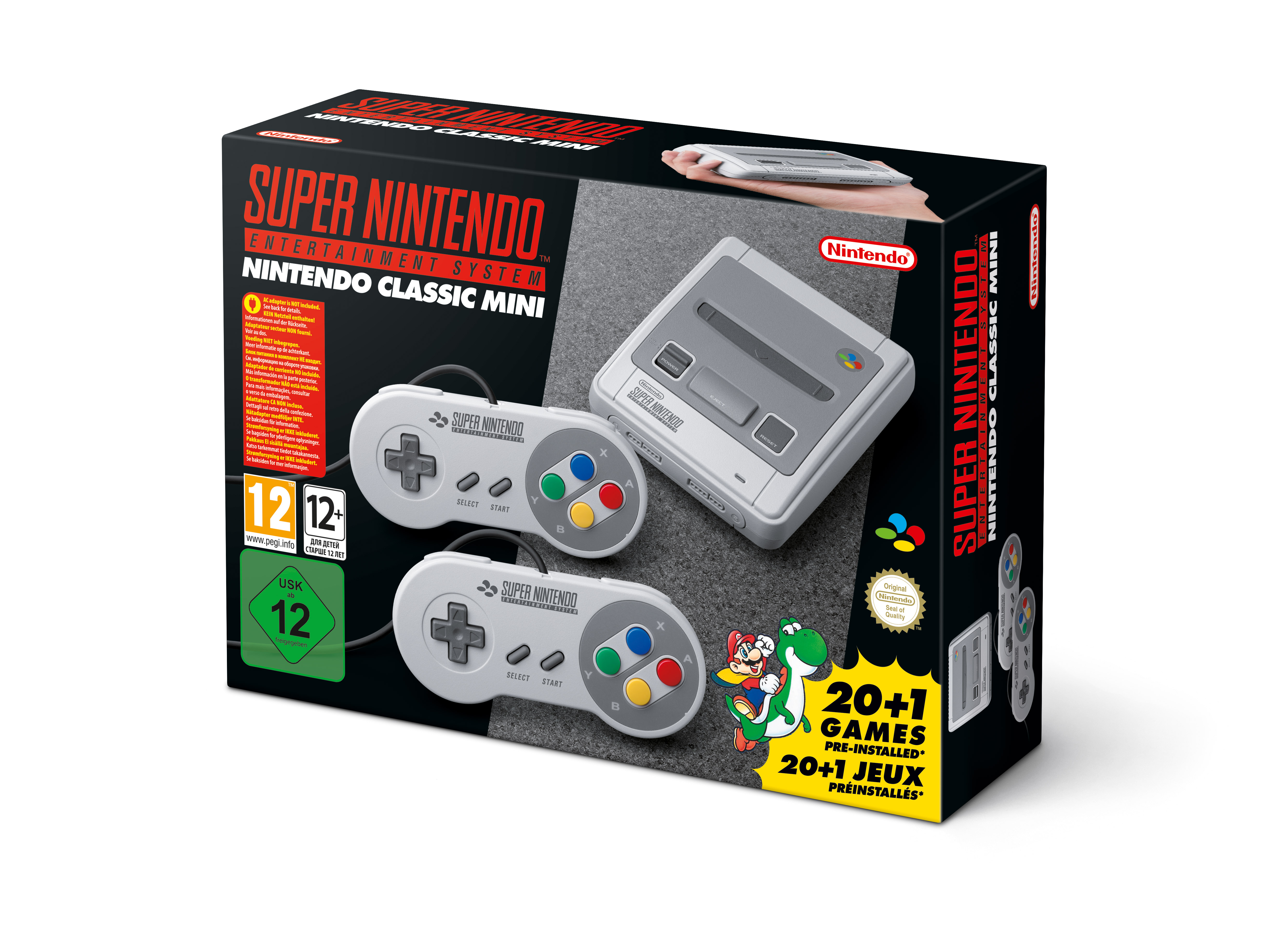 Nintendo Accidentally Announce SNES Mini Instead of a Switch