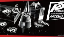 Artemis Kings Details Collection of Persona 5 Rings