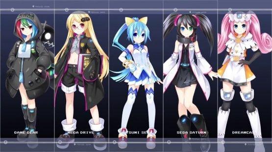Superdimension Neptune VS Sega Hard Girls.