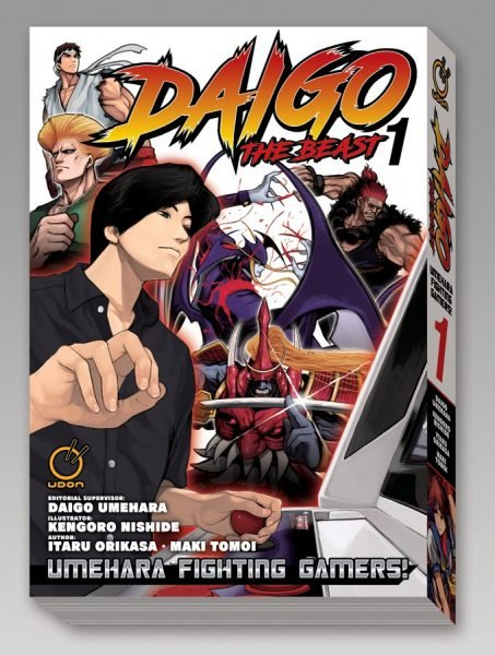 Daigo The Beast: Umehara Fighting Gamers! Manga Getting English Release