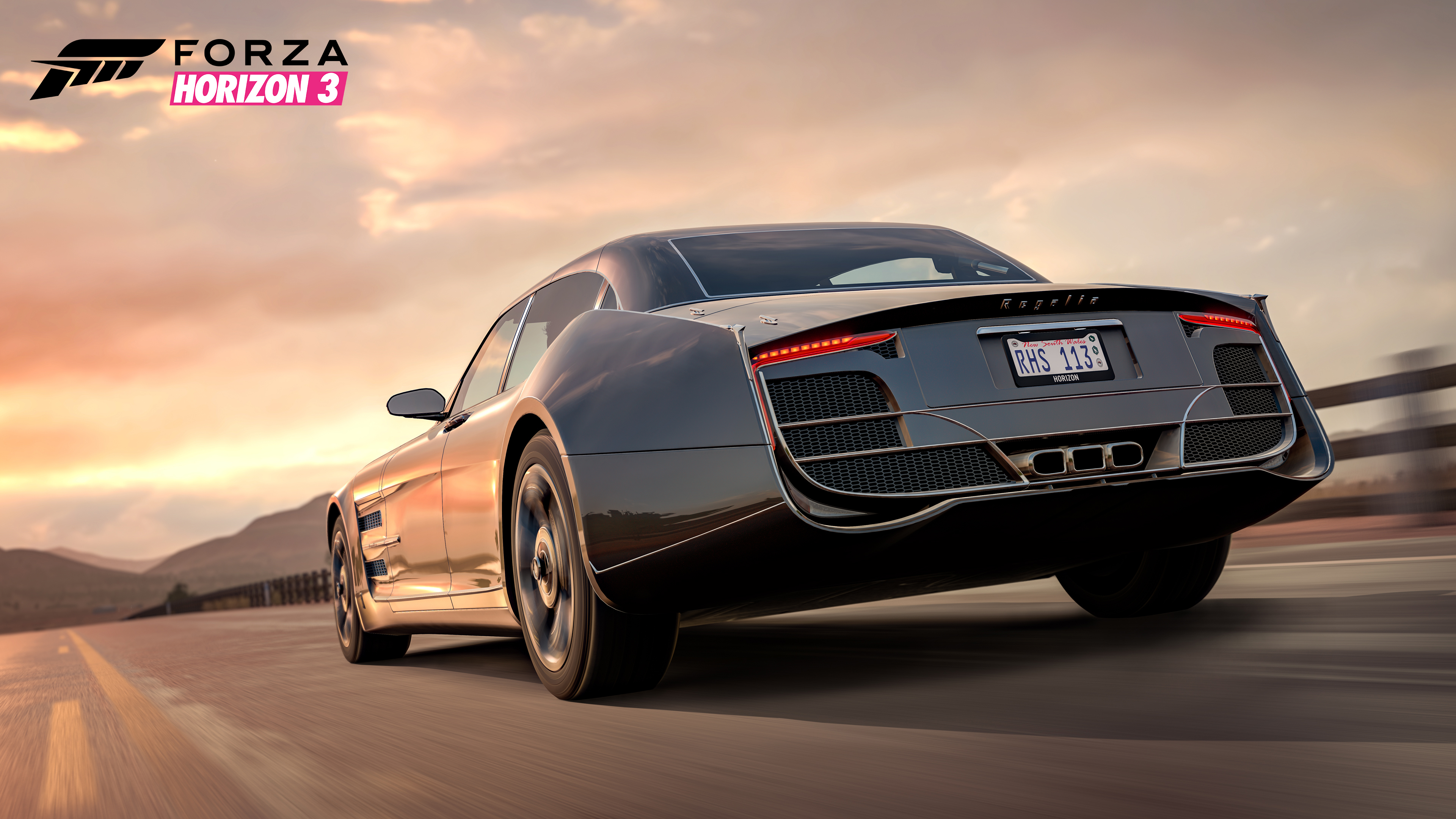 The Regalia Will Be Made Available To Everyone Who Has Played Forza Horizon 3 On Xbox One S Or Windows 10 PCs And FINAL FANTASY XV