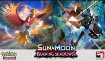 Pokémon TCG: Sun & Moon Burning Shadows Expansion Released