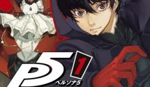 First Volume of the Persona 5 Manga Cover Art Released