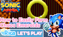 How to Easily Farm Chaos Emeralds in Sonic Mania's Green Hill Zone (This is How We Do It)