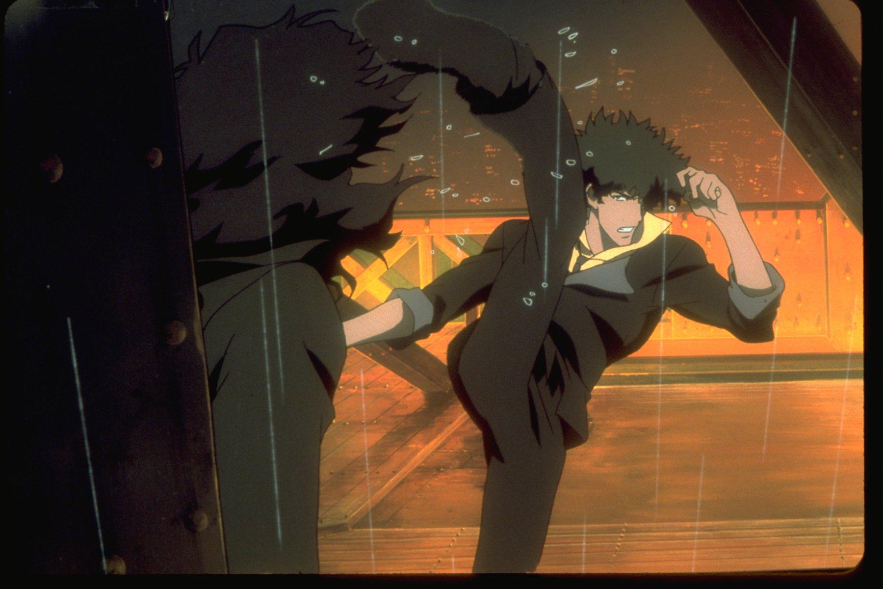 cowboy bebop the movie review anime rice digital