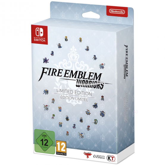 5 More Fire Emblem Warriors Characters Revealed in Box Art