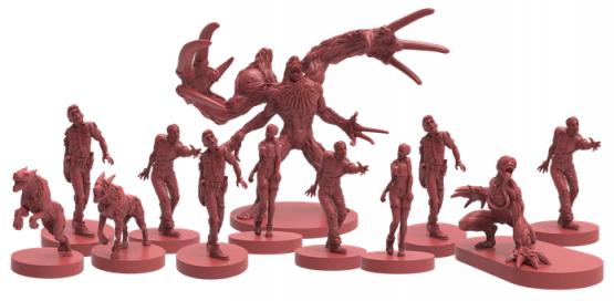 Resident Evil 2 The Board Game Kickstarter - Monster Models