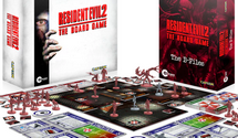 Resident Evil 2: The Board Game Now On Kickstarter