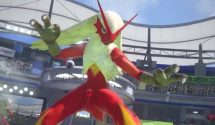 Blaziken Kicks Up a Storm in Pokken Tournament DX