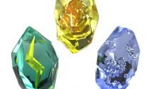 Check Out These Fancy Pokemon Evolution Stones Replicas
