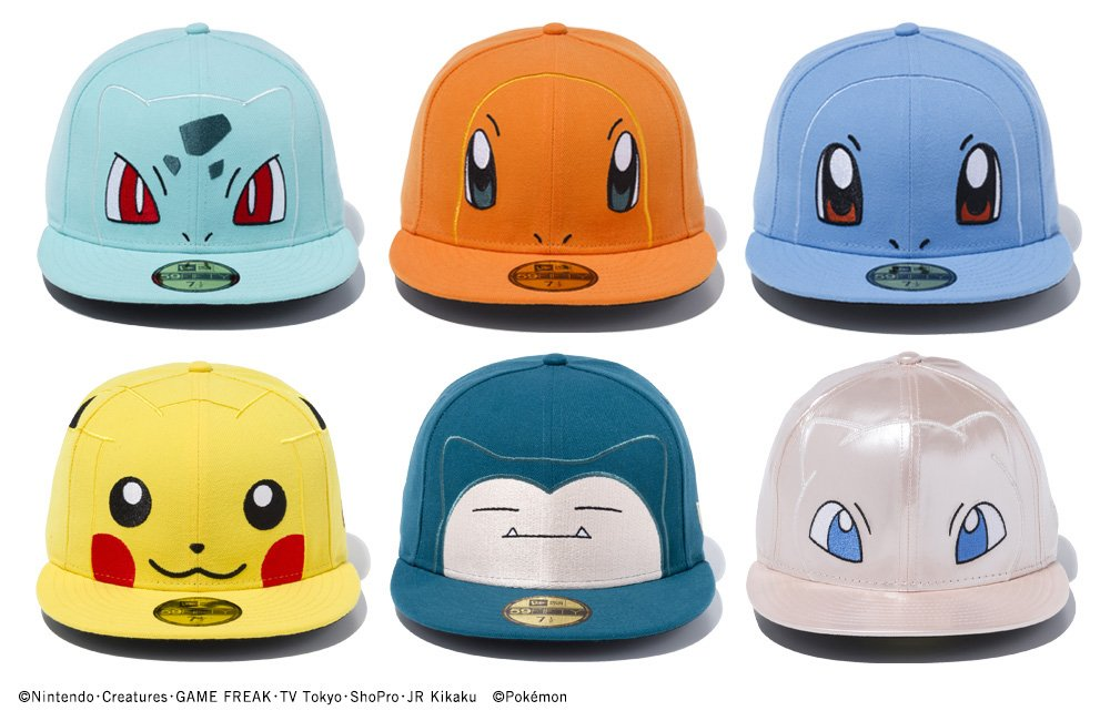 c8c13a3a112 Rep Your Favourite Pokemon with these Pokemon Snapbacks - Rice ...